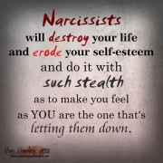 Narcissist Will Destroy