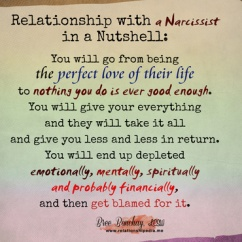 Narcissistic Relationship Dynamic