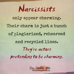 Narcissists Are Actors