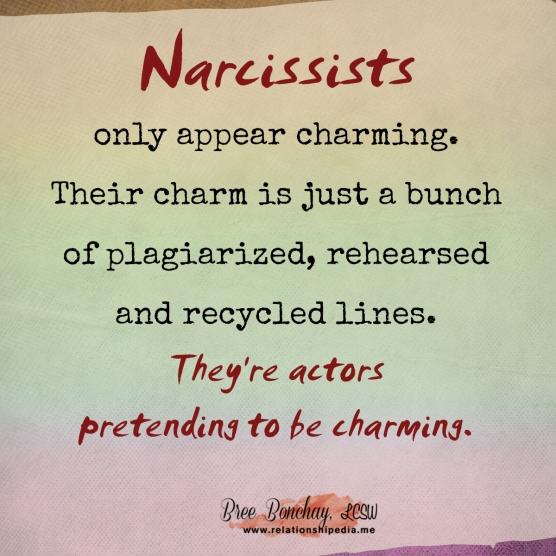 Narcissists Are Actors